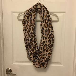 Leopard Print Infinity Scarf H&M