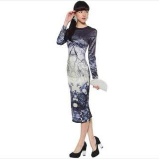 HVV Love Bonito TEM Midi Dress