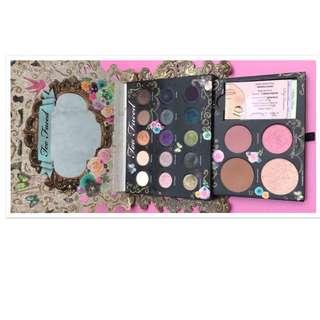 eyeshadow bronzer blush highlight too faced