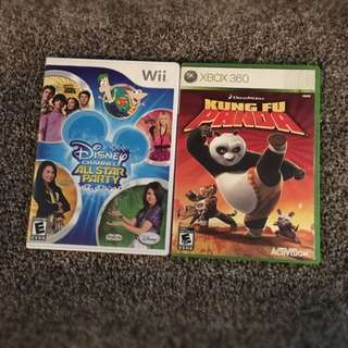 Wii And Xbox Games