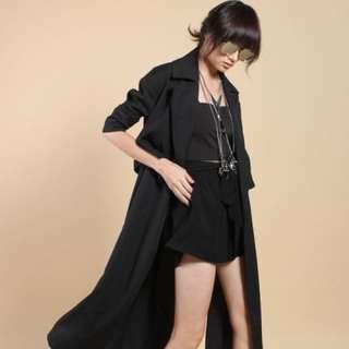 YHF Mischief coat in Black