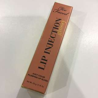 Too Faced Lip Injection Glossy (Spice Girl)