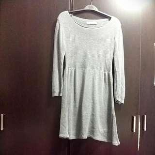 Zara Casual Grey Dress