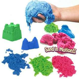 1KG Kinetic Sand In Motion