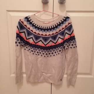 Garage Pattern Sweater
