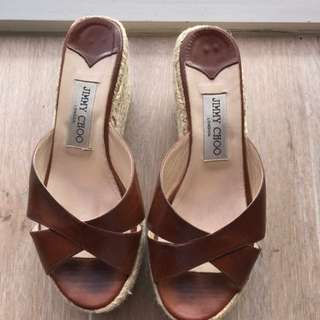 Authentic Jimmy Choo Sandals Size 37