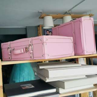 (FOR RENT) Colourful Suitcases Props