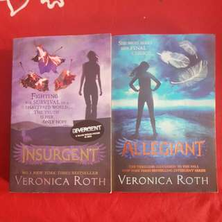 Divergent trilogy books 2&3