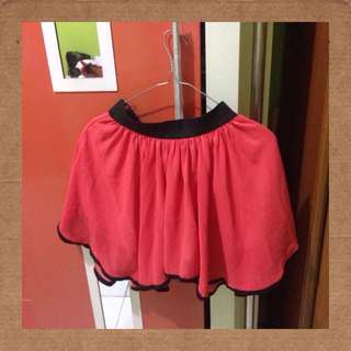 Avenue Red Skirt