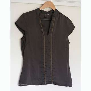 Colorado chocolate brown top size M