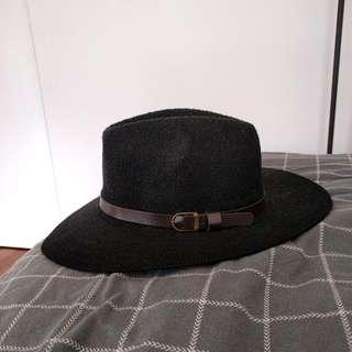 Flet Festival Hat Vintage Black Summer Cowboy Boho Accessories
