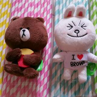 Brown and Cony Soft Toy