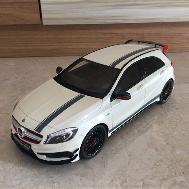 1/18 Scale Limited Edition Mercedes AMG A45 Model, Toys