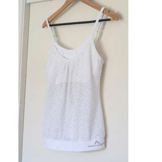 Rockwear white top size 12