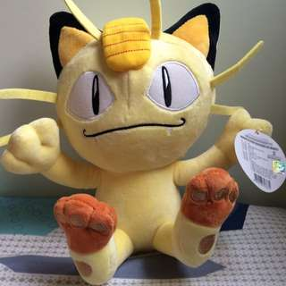 Pokemon Meowth Plush Toy
