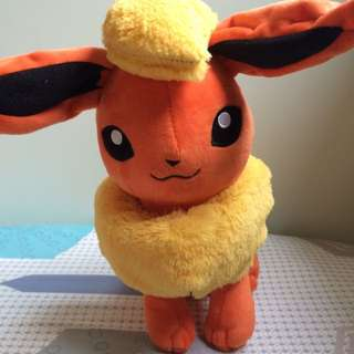 Pokemon Flareon Plush Toy