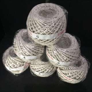Cotton Twine (Natural White Colour)