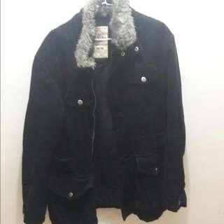 韓版 毛領禦韓大衣