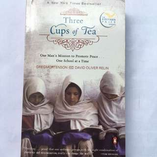 English Book - Three Cups Of Tea