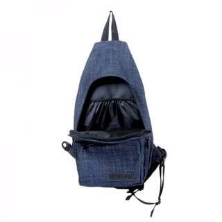 Bleugenes Denim Strap Casual School Backpack Bag