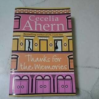 Cecelia Ahern: Thanks For The Memories