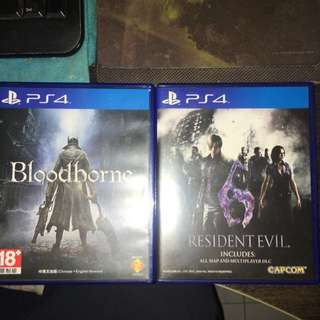 Bloodborne And Resident Evil 6 Remastered