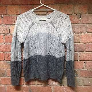 Ombré Knitted Jumper