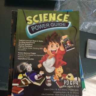 P3, P4 Science Power GUIDE