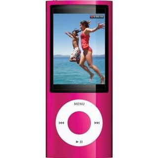 iPod Nano Camera 16Gb Cracked Screen Still Working Pink