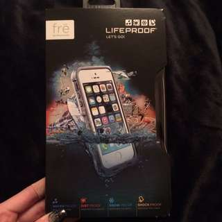 Lifeproof Case For iPhone 5/5s White/Grey