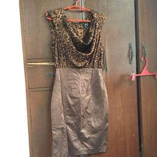 XOXO Short Animal Print Dress