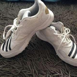 Adidas White Shoes