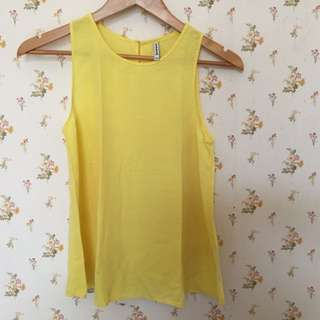 Top Stradivarius Yellow