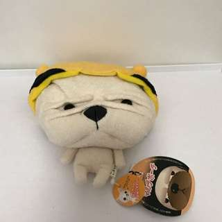 Cute Pug 🐶 Nagio Plush Bag