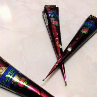 印度Henna彩繪顏料