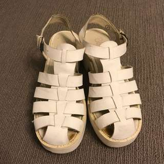 White Shoes Size 7