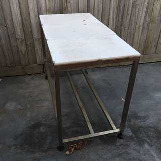 Stainless Steal Chopping Bench
