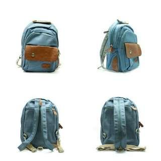 Tas Ransel Impor / Rivet Bag Woman Fashion Backpack