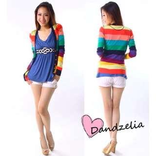 Dandzelia Rainbow Cardigan