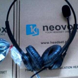 Neovox NX377D-USB Headset