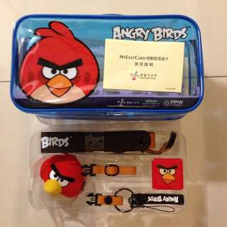 Angry Birds聯名悠遊卡套組