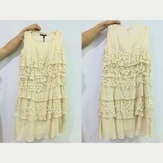 Rimple Ivory Dress