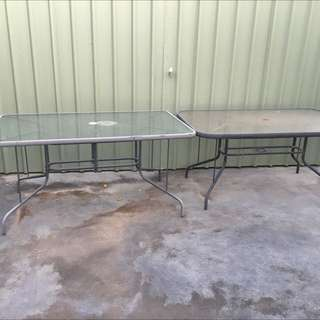 Outdoor Tables ( X2)