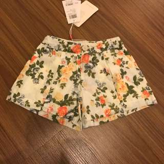 PONEY Flower Shorts