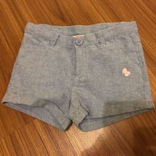 PONEY Soft Denim Shorts