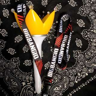 BIGBANG 10th Anniversary Japan Lanyard 十周年挂绳