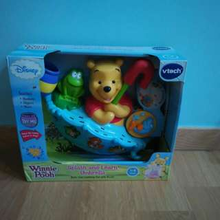 Vtech Winnie The Pooh Splash And Learn Umbrella