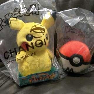 Brand New Unopened Packaging Pokemon From Changi Airport