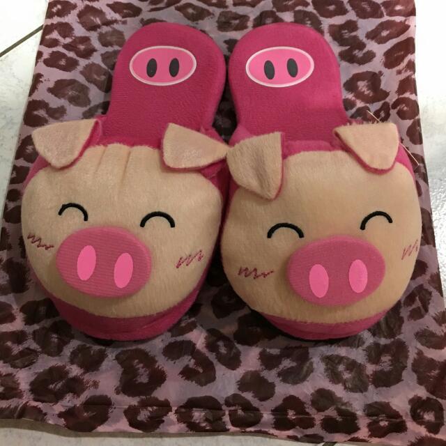 粉紅豬 拖鞋 居家鞋