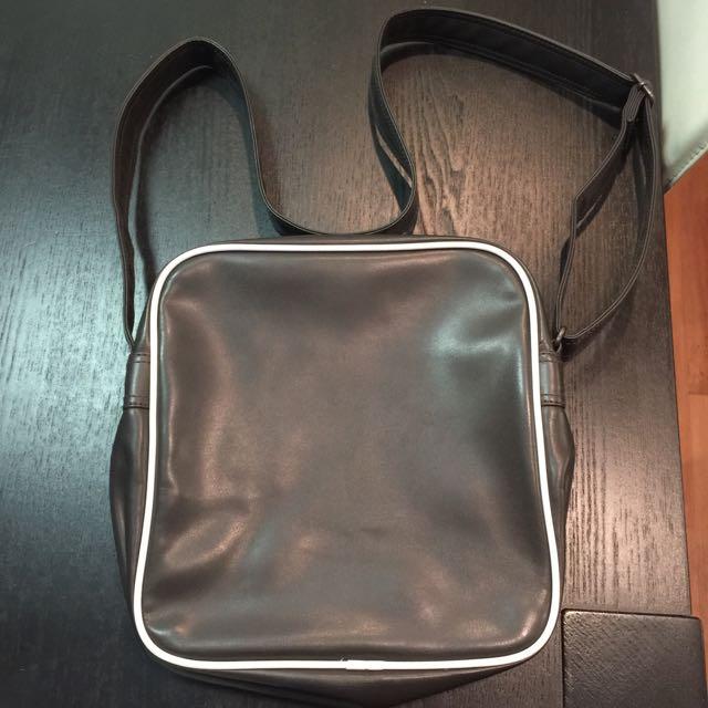 Adidas brown shoulder bag